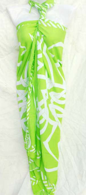 Beach gift distribution store exports Artsy tribal art wear sarong