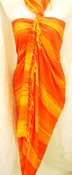 Garden fashion supply exchange imports unique Summer balinese beauty sarong dress