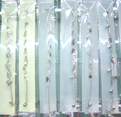 anklet jewelry wholesale- fashion anklets with assorted charm design