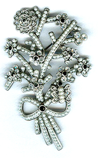 Buy wholesale jewelry online -- Fashion body jewelry with multi mini cz on the flower