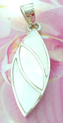 Sterling silver earring in carved-out flower frame  with a mini flower pattern suspended in middle