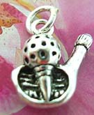 Sport spirit 925. Thailand made solid sterling silver charm pendant