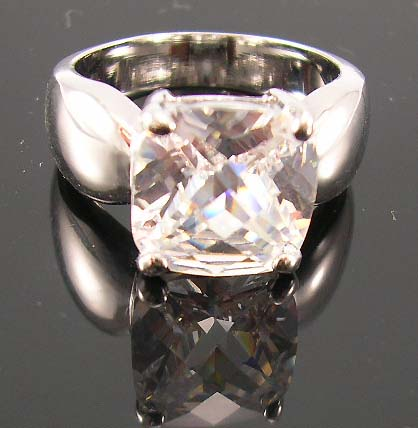 Shop bridal cubic zirconia jewelry wholesale online supply clear diamond cz ring