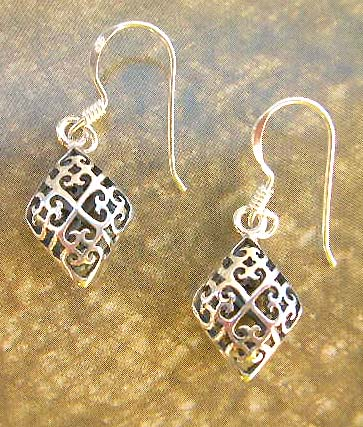 Shop Filigree jewelry fashion wholesale sterling silver earrings
