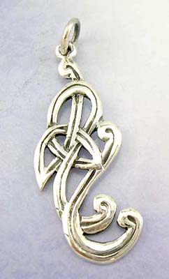 Delicate design fashion pendant silver jewelry for her in solid sterling silver pendant
