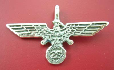 Animal fashion jewelry pendant supplier store in solid sterling silver pendant, eagle design