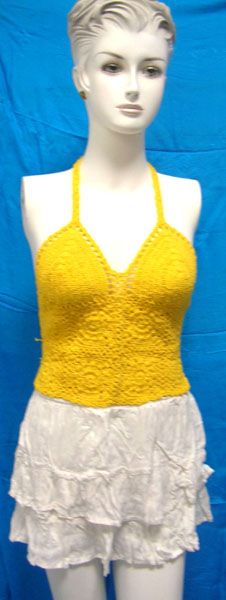 Deal ladies fashion supplier wholesale fashion shows need ladies crochet top
