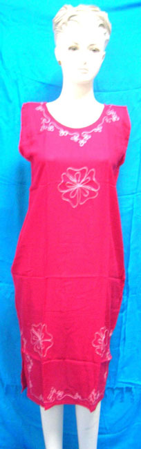 Designer inspired clothing distributor wholesale women's embroidery dress