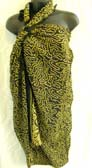 Womens fashion factory supplies artist inspired designed batik swim wear shawl