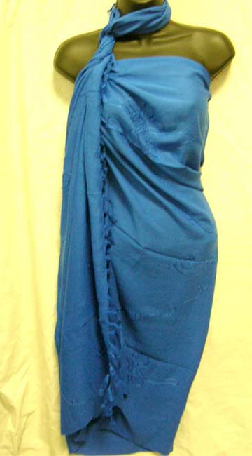 Artisan crafted, embroidery designed Indonesian sarong cover up supplied by online factory