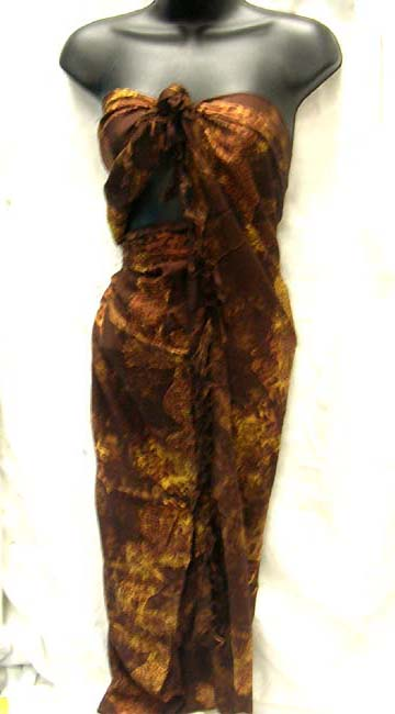 Ladies island wear boutique, Tie dyed Indonesian fashion shawl cover up wholesale