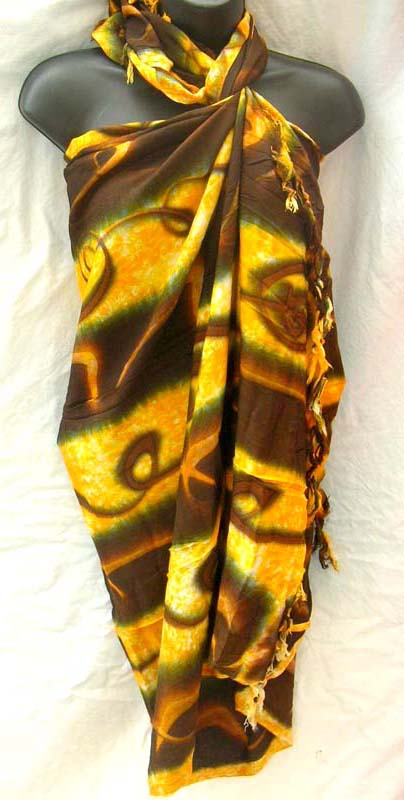 Exotic bali pareo wrap distributed by wholesale shopping exchange