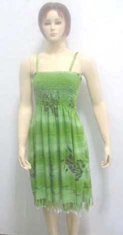US distributor wholesale with experience wholesaler supply lady's apparel spaghetti strap hawaiian sun dress