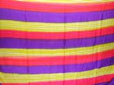 Rainbow stripes wrap around skirt/sarong