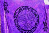 Celtic purple sarong pertama